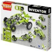 Конструктор Енджино Изобретател - 16 модела коли - Engino, 150013