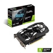 Asus NVIDIA GeForce GTX 1650 Dual OC 4G Gaming Grafische kaart, PCIe 3.0, 4 GB DDR5, HDMI, DVI, DisplayPort