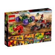HULK CONTRA HULK CEL ROSU - LEGO (76078)