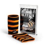 GASP Power Elbow Sleeves, Black/Flame