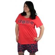 Vienetta Miss pyžamo XXL světle červená