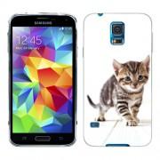 Husa Samsung Galaxy S5 Mini G800F Silicon Gel Tpu Model Pisicuta