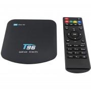 TV Box 4K Quad-core Android 6.0 1G 8G WiFi-Negro