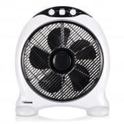 Tristar Ventilator vierkant VE-5997 50 W zwart en wit