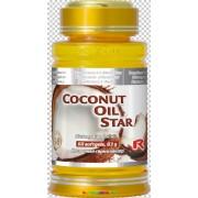 Coconut Oil Star 60 db lágyzselatin kapszula kókuszolajjal az optimális testtömegért és zsírbontásért - StarLife