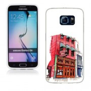 Husa Samsung Galaxy S6 G920 Silicon Gel Tpu Model Old Town Bar