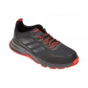 Pantofi sport ADIDAS negri, ROCKADIA TRAIL 3.0, din material textil