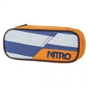 nitro Etuibox Pencil Case Heather Stripes