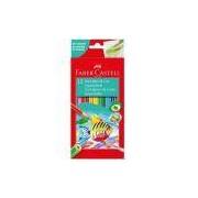 Lápis de cor 12 Cores Aquarelável sextavado 120212 Faber Castell