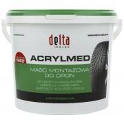 Pasta montażowa do opon DELTA Acrylmed lato zielona 4kg - zielony