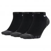 Chaussettes de training Nike Dry Lightweight No-Show (3 paires) - Noir