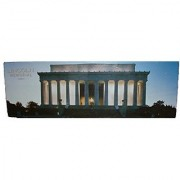 Lincoln Memorial 12 by 36 Panoramic Puzzle Over 500 Pieces by Unknown
