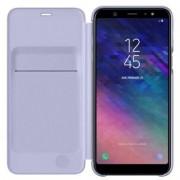 Samsung Etui Samsung Wallet Cover do Galaxy A6+ fioletowe EF-WA605CVEGWW