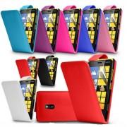 Nokia Lumia 620 Flip Калъф + Скрийн Протектор