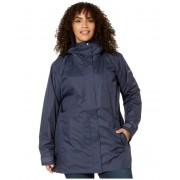 Columbia Plus Size Splash A Little II Rain Jacket Nocturnal Titch Diamond Print