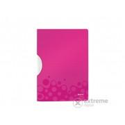 """Dosar cu clip Leitz """"Wow ColorClip"""" A4, roz (41850023)"""