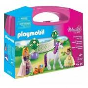 Playmobil Maletin Grande - Princesas Y Unicornio - 70107