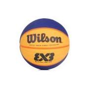 Bola de Basquete Wilson Réplica Fiba 3X3 Azul e Amarela