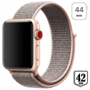 Apple Watch Series 4/3/2/1 Nylon Strap - 44mm, 42mm - Rose Gold