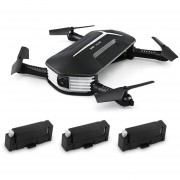 Drone JJRC H37 MINI - Negro (With Three Batteries)
