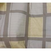 Nyers alapon mintás vászon, körös 89x89cm/018/Cikksz:1230049