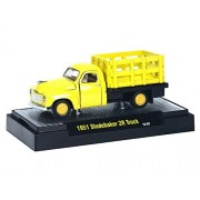 M2 Machines Auto-Trucks 1951 Studebaker 2R Truck 1:64 Yellow