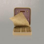 Cutie pentru Bijuterii Diagona Maro de la Friedrich – Produs în Germania