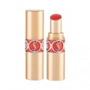 Yves Saint Laurent Rouge Volupté Shine Oil-In-Stick червило 4,5 гр за жени 46 Orange Perfecto