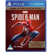 PlayStation 4 Game - Spider-Man - Game of the Year Edition, Retail Box, No Warranty on Sof