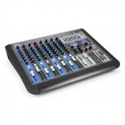 Power Dynamics PDM-S1204 Mezclador de 12 canales DSP/MP3, puerto USB, receptor BT (Sky-172.624)