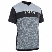 ION - Tee S/S Scrub AMP - Maillot vélo taille 48, gris/noir