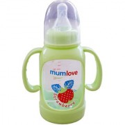 Toys Factory Strawberry Design Baby Feeding Bottle Mumlove 125 ml Green