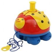 Lovely Push N Go ladybug toy for kids big toy (cms)19x17x16. Yellow