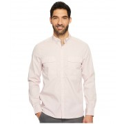 Kenneth Cole Long Sleeve Solid Stretch Utility Pale Mauve