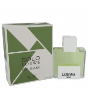 Solo Loewe Origami by Loewe Eau De Toilette Spray 3.4 oz