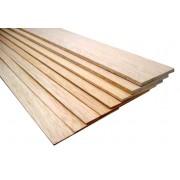 Balsa háromszög 10x10x1000 mm (normál)