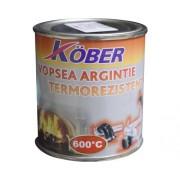 Vopsea termorezistenta Köber argintiu 0,2 l