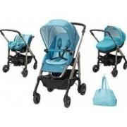 Carucior copii Bebe Confort Stroller Trio Loola Excel 3 in 1 Mosaic Blue