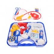 Set de joaca Doctor Eddy Toys, plastic, 13 piese, lampa inclusa, 3 ani+
