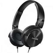 Philips SHL3060 Wired Headphone Blk Open box