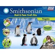 Smithsonian / Penguins PerfectCast Mold & Paint Craft Kit