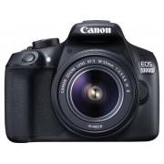 Digitale spiegelreflexcamera Canon EOS 1300D Kit Incl. EF-S 18-55 mm IS II lens 18 Mpix Zwart Full-HD video-opname, WiFi, Flitsschoen, Optische zoeker