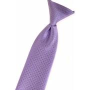 Chlapecká kravata Fialová strukturovaná Avantgard 558-9318