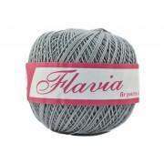 Fir de tricotat sau crosetat - Fire Bumbac 100% FLAVIA ROMANOFIR BOBINA GRI 1281