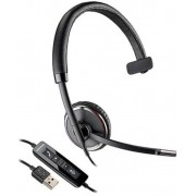 Casca Call Center Plantronics BLACKWIRE C510 , USB, Monoaural (Negru)