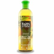 Gel de dus si spuma de baie cu grapefruit si portocala, Faith in Nature, 400 ml
