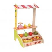 Jucarie din lemn Stand cu fructe