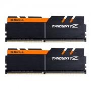 Memorie G.Skill Trident Z 16GB (2x8GB) DDR4 3200MHz 1.35V CL14 Dual Channel Kit, F4-3200C14D-16GTZKO