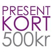 Minfot.se PRESENTKORT 500kr