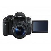 Camera foto Canon DSLR EOS 750D + EF-S 18-55 IS STM Black